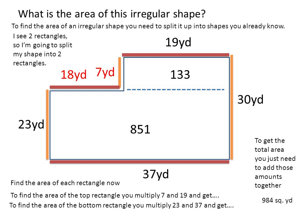 March 13 MS GATTSHALLS MATH AND SCIENCE CLASS – Area and Perimeter of Irregular Shapes Worksheets